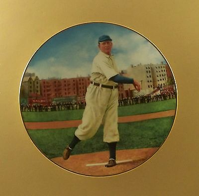 The Legends of Baseball CY YOUNG:  THE PERFECT GAME Plate #4 COA & Card