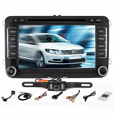 "7"" Car DVD Player Radio Stereo GPS NAViGATION for VW Golf Jetta EOS Caddy Skoda"