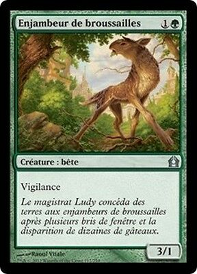 MTG Magic RTR - (4x) Brushstrider/Enjambeur de broussailles, French/VF