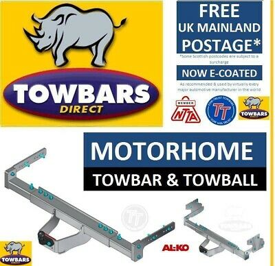Towbar for Motorhomes with ALKO Chassis And/Or Extensions 2007 onwards TALKO1