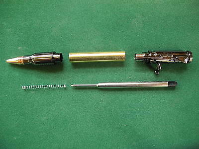 Woodturning BOLT ACTION Pen Kit in Gun Metal Grey