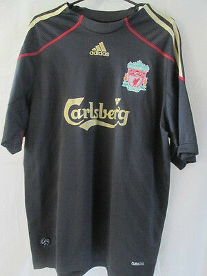 Liverpool 2009-2010 Away Torres 9 Football Shirt Size Medium /11509