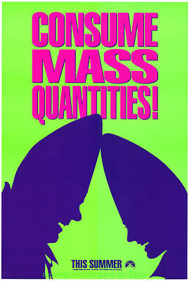 CONEHEADS MOVIE POSTER Original 27x40 One Sheets 3 Different Advance Styles