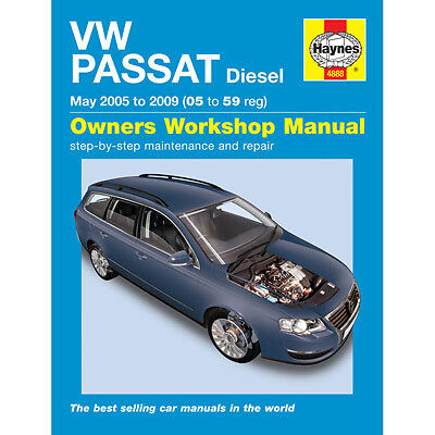 New Haynes Manual VW Passat Diesel 05-09 Car Workshop Repair Book 4888