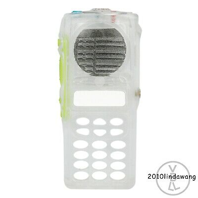 Clear Transparent Replacement Full-keypad Case Housing For Motorola HT1250 Radio