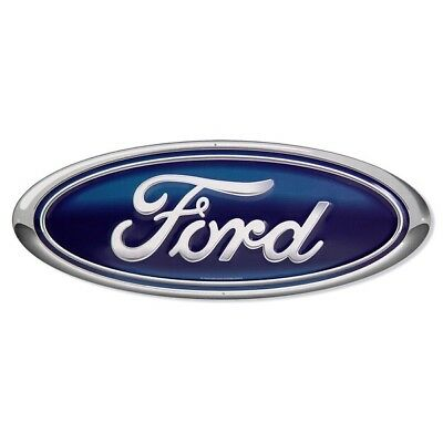 Ford Oval Emblem Metal Sign Tin Automotive Garage Decor 20 x 8