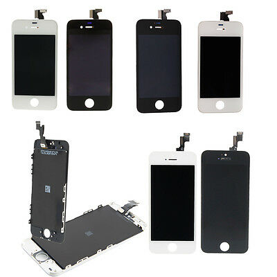 LCD Screen Touch Digitizer Assembly Frame Replacement for iPhone 5S/5/4S/4