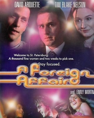 A foreign Affair David Arquette new  dvd region 4 stocked in Perth