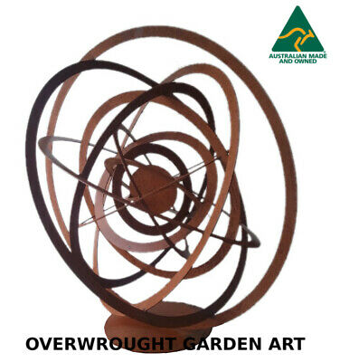 Sol Abstract metal Garden Art Sculpture - Handmade in Australia