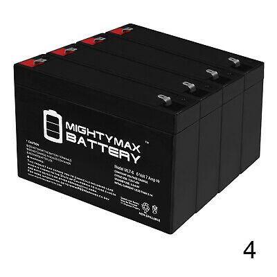 PS250i 6 Pack Brand Product Mighty Max Battery 6V 12Ah F2 Compatible Battery for APC SmartUPS PS250