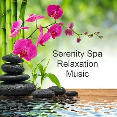Serenity Spa Relaxation Music Cd  *beauty Salon*spa*holistic Therapies* Massage