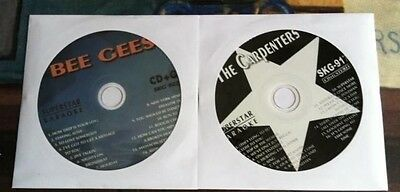 2 Cdg Discs 1970's Karaoke Hits Of The Bee Gees & Carpenters Cd+G New ($39.99)