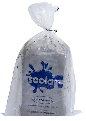Scola 12.5kg Clay Air Drying Air-dry Modelling Clay Reinforced Non Toxic Pottery