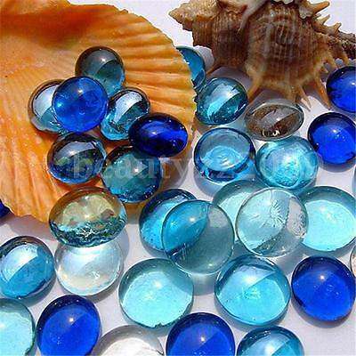 New 10X Gorgeous Fish Tank Aquarium Decor Landscaping Glass Marbles Beads Balls