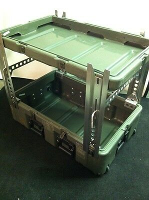 New Leg Set For HARDIGG/PELICAN Cases. Turn Your Shipping Case Into A Table!