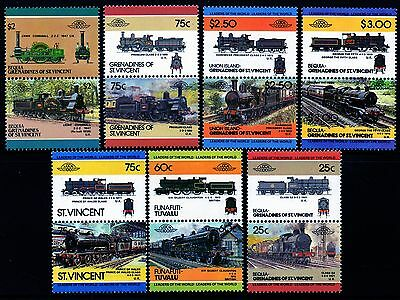 LNWR LONDON & NORTH WESTERN RAILWAY Collection GB Train Stamps L&NWR Locomotives