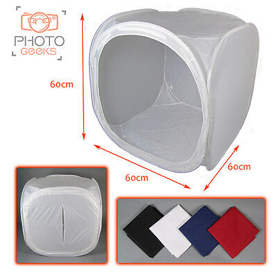"Product Photography Light Tent 60cm / 23""  & Backdrops - Box Cube Photo Studio"
