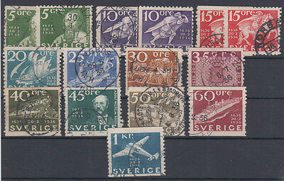 Sweden ships,horses,tran,car,carriage 1936 USED