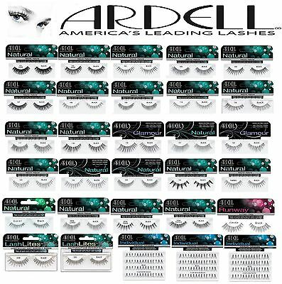 Ardell-100%Human Hair False Eyelashes-Fashion/Glamour/Natural/Individual Lashes