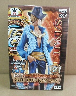 Banpresto Prize One Piece DXF The Grandline Men 15th Edition Sanji Figure