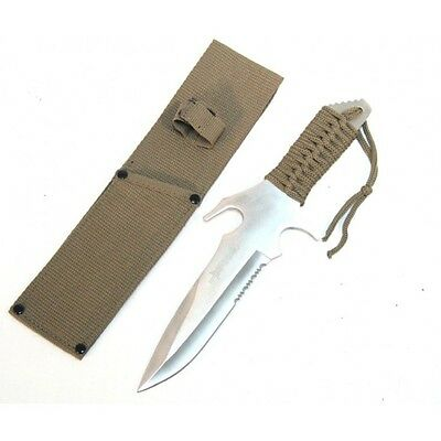 """Defender Tactical Survival Knife - 12.5"""" OAL - Fixed Blade - Full Tang 6406"""