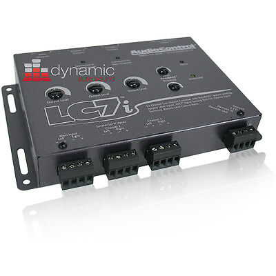 AudioControl LC7i 6 Ch. Line Output Convertor with AccuBASS Audio Control New