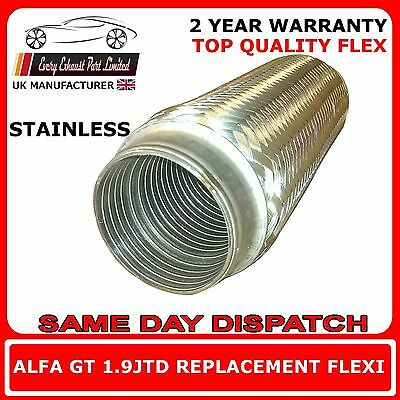 Alfa Romeo GT 1.9JTD Coupe 2003-10 Replacement Exhaust Flex Flexi For Front Pipe