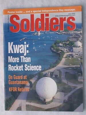 Heft: SOLDIERS , US ,  July    2002   incl. Poster