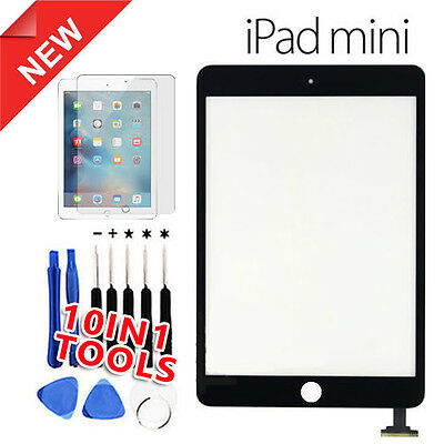 Replacement Digitizer Glass Touch Screen Repair for Apple iPad mini 1 2 Black