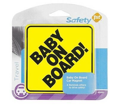 "Safety 1St 48800 Baby On Board Magnet, 4"" x 4"""