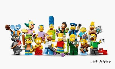Lego Simpsons Collectable Mini Figures Choose The One/s You Want Or Full Set