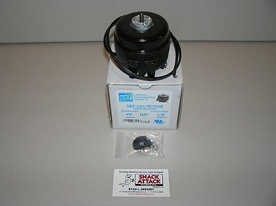 DIXIE NARCO, VENDO, USI, FSI, ROYAL VENDORS - 9 WATT CONDENSER or EVAP FAN MOTOR