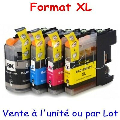 Encres compatibles Brother DCP J132W ( cartouches LC123 XL x1 4 5 8 9 10 12 16 )