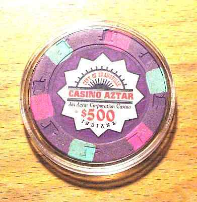 Casino Aztar $500. Casino Chip - Indiana - Primary Chip - Shipping Discounts