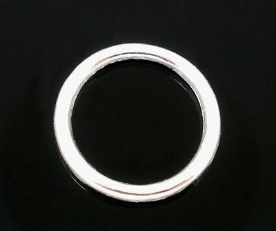 200 PCs SP Soldered Closed Jump Rings 10x1mm Findings