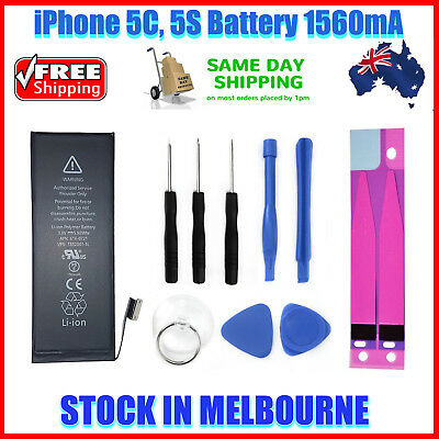 Brand New Genuine OEM Replacement Battery for iPhone 5S , iPhone 5C 1560mAh 3.8V