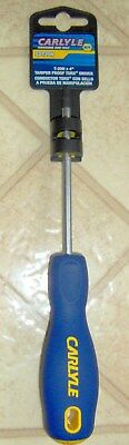 """T20 anti Tamper Proof TORX TR 4"""" Security SCREWDRIVER CARLYLE by NAPA CHT SDT20H"""