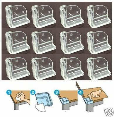 12X New Corner Protector L-Shape Baby Child Safety Cushion Table Desk Edge Guard
