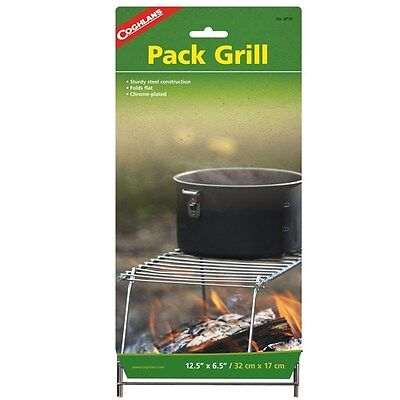 Camping Backpacking Pack Grill Campfire Cooking Stove- Coghlan's 8770
