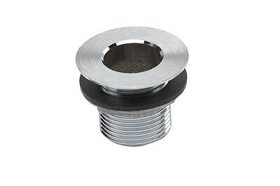 "Krowne 1/2"" Nps Nickel Plated Drain 23-110"