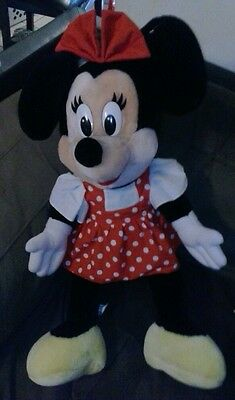WOW cool Disneyland EXLUSIVE Vintage 2 ft 1970s  Plush Minnie Mouse RARE FIND!