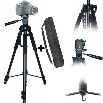 "72"" Tripod Heavy Duty Full Size  For Photo & Video FOR Canon Nikon Sony Camera"
