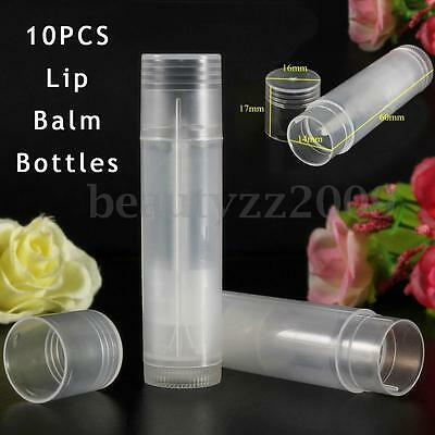 50/100/200x Empty Clear Cosmetic LIP Balm Containers Makeup Lipstick Case