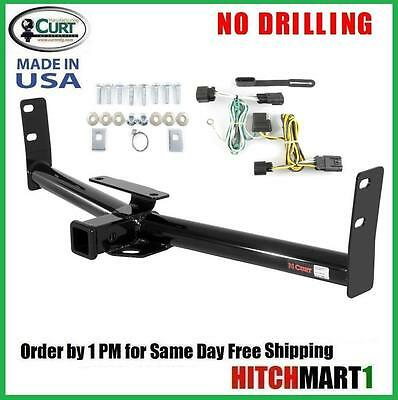 """CURT TRAILER HITCH & WIRING FOR 2010-2015 CHEVY EQUINOX CLASS 3, 2"""" TOW RECEIVER"""