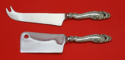 Decor by Gorham Sterling Silver Cheese Server Serving Set 2pc HHWS  Custom Made