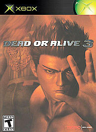 Dead or Alive 3 (Xbox, 2003) DISC ONLY