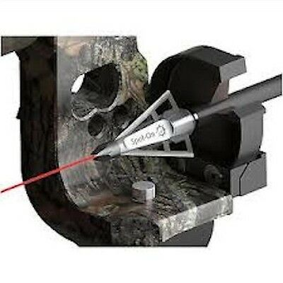 Cleanshot-Laser Broadhead!- The Only Field Sighted Broadhead In The World!!!!!!!