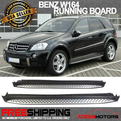Special Limited Time Deal! 06-11 ML Class W164 SUV Running Board Side Step Bar