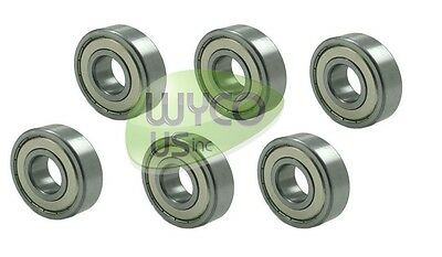 """6-Pack, Ball Bearings To Fit John Deere L120, L 120 Tractors With 48"""" Deck, Z-40"""