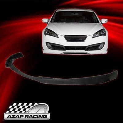 10-12 JDM Style Poly-Urethane Front Bumper Lip Spoiler Fit Hyundai Genesis Coupe